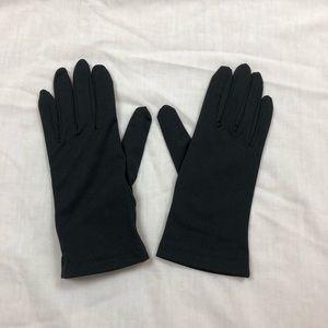 Carolina Amato | Black Short Gloves